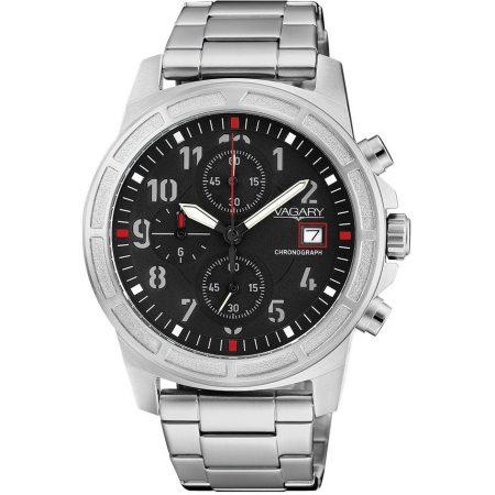 Orologio Vagary Sport Cronografo Impermeabile Acciaio IA9-411-51
