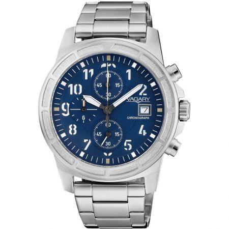 Orologio Vagary Sport Cronografo Impermeabile Acciaio IA9-411-71