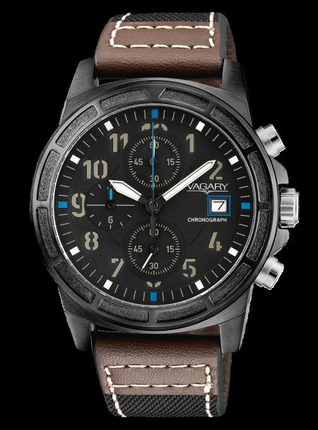 Orologio Vagary Sport Cronografo Impermeabile Acciaio IA9-446-50