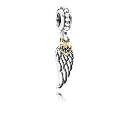 Pandora Charm Amore e Protezione Originale Oro Argento Sterling 791389