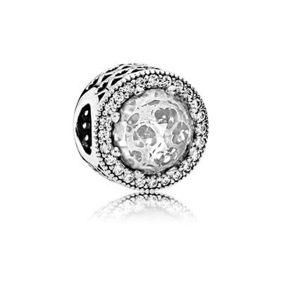Pandora Charm Gioiello Scintillante Originale Argento Sterling 791725CZ