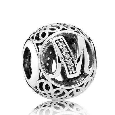 Pandora Charm M Vintage Originale Argento Sterling 791857CZ