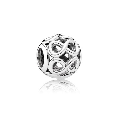 Pandora Charm Openwork Infinito Originale Argento Sterling 791872
