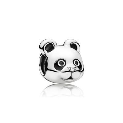 Pandora Charm Panda Felice Originale Argento Sterling 791745EN16