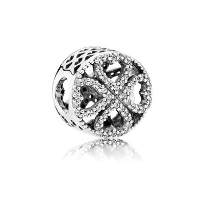 Pandora Charm Petali Amore Originale Argento Sterling 791808CZ