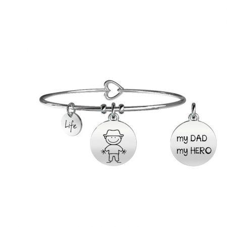 Bracciale Kidult Collezione Life Family Dad - Papà - 231566