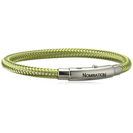 Bracciale Nomination You Cool 025301/019 Verde Fortuna