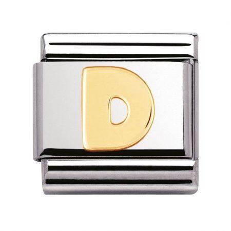 Componibile Nomination Classic Lettera D 030101/04