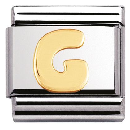 Componibile Nomination Classic Lettera G 030101/07