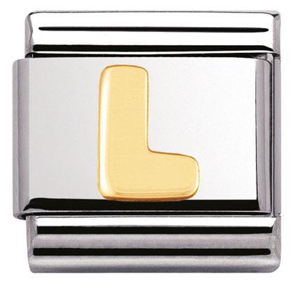 Componibile Nomination Classic Lettera L 03101/12