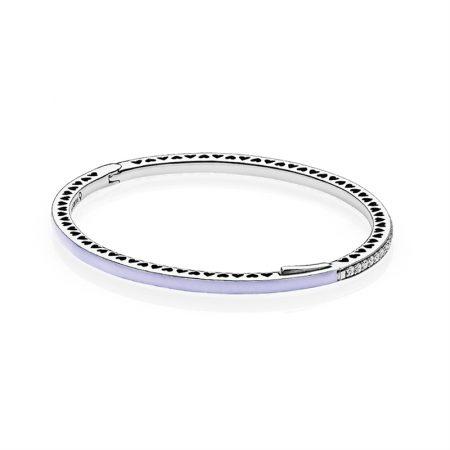 Pandora Bracciale rigido 590537EN66-1 purple mis. 1