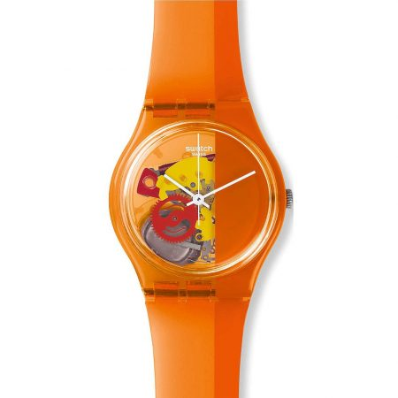 Orologio Swatch GO116 Bloody Orange