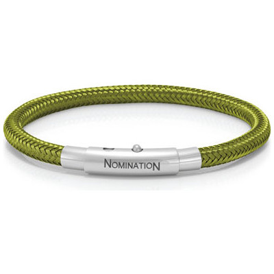 Bracciale Nomination You Cool 025301/024 Verde Speranza