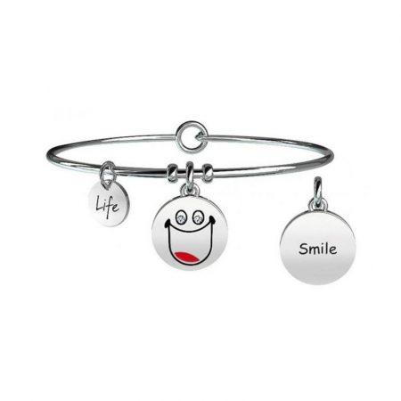 Bracciale Kidult Collezione Life Symbols Smile 231675