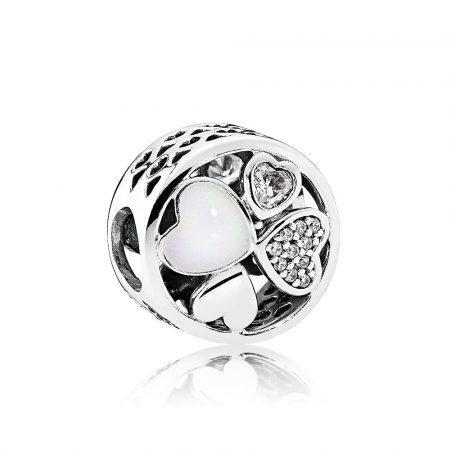Pandora Charm Cuori d'Amore 792143CZ