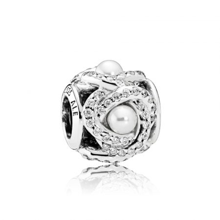 Pandora Charm Nodo d'Amore Luminoso 792105WCP