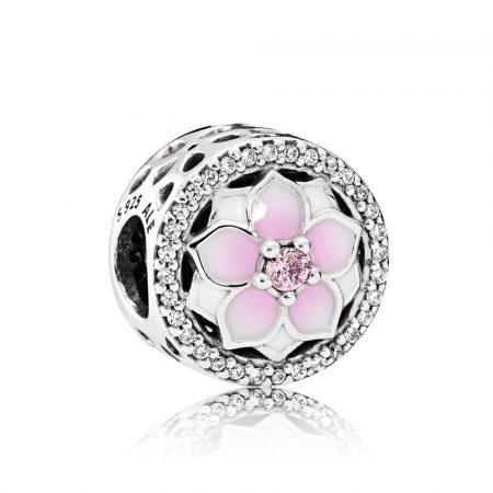 Pandora Clip Fiore di Magnolia 792085PCZ