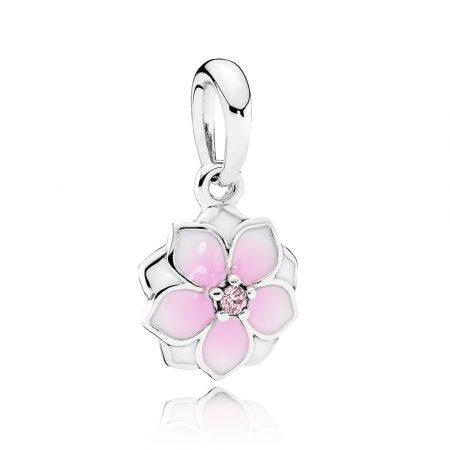 Pandora Charm Pendente Fiore di Magnolia 792086PCZ