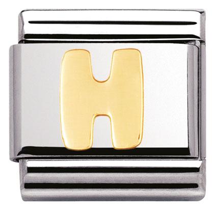 Componibile Nomination Classic Lettera H 030101/08