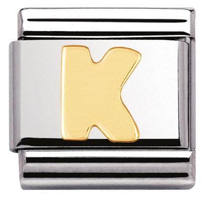 Componibile Nomination Classic Lettera K 030101/11