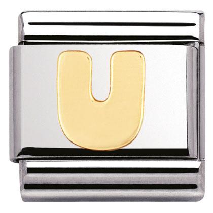 Componibile Nomination Classic Lettera U 030101/21