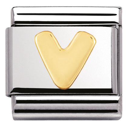 Componibile Nomination Classic Lettera V 030101/22