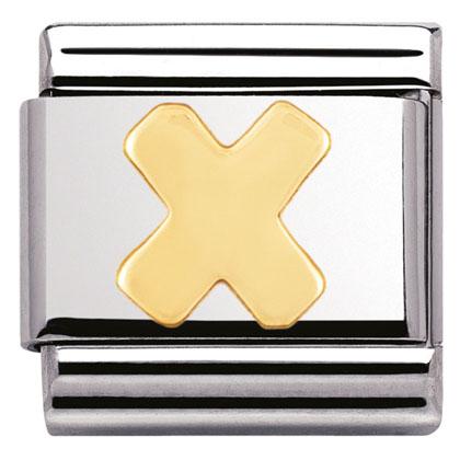 Componibile Nomination Classic Lettera X 030101/24