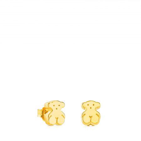 Orecchini Tous orsetto in oro giallo 015913000