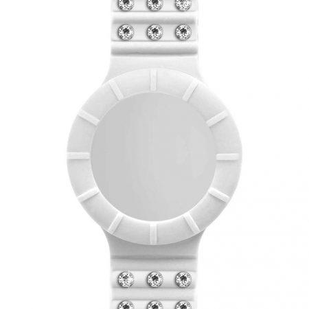 Cinturino Hip-Hop HBU0485 Cristal Absolute White