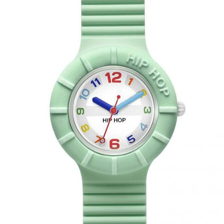 Orologio Hip-Hop HWU0465 Numbers Collection Light Green