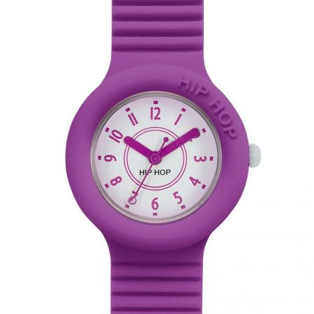 Orologio Hip-Hop HWU0630 Numbers Collection Fluo Purple
