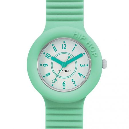 Orologio Hip-Hop HWU0633 Numbers Collection Pastel Green