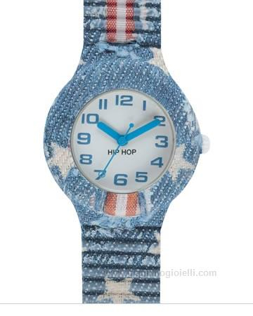 Orologio Hip-Hop HWU0678 Jeans Collection