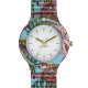 Orologio Hip-Hop HWU0782 Jungle Fever Flamingo Jungle