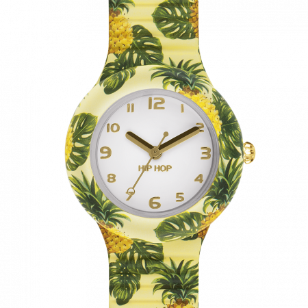 Orologio Hip-Hop HWU0787 Summer Pineapple