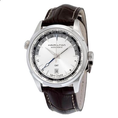 Hamilton Orologio Jazzmaster GMT Automatico Tessuto H32605551