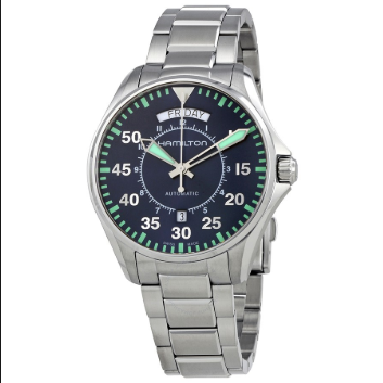 Hamilton Orologio Khaki Aviation Day Date Automatico H64615145