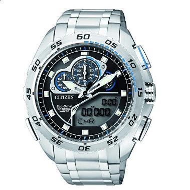 Orologio Citizen Promaster Millesimo Crono Acciaio Eco-Drive JW0120-54E
