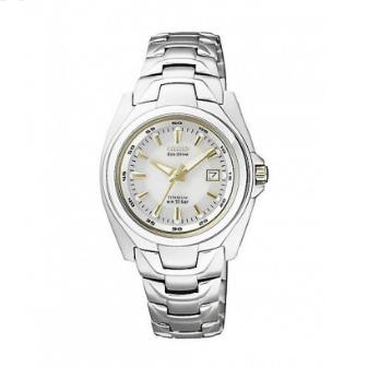 Orologio Citizen Super-Titanio Solo Tempo Acciaio DonnaEW0911-50A