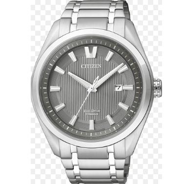 Orologio Citizen Super-Titanio Solo Tempo Acciaio Nero AW1240-57H