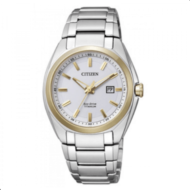 Orologio Citizen Super-Titanio Solo Tempo Bianco Donna EW2470-87B