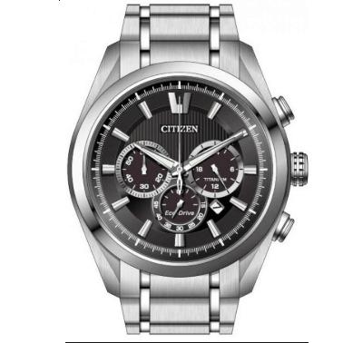 Orologio Citizen Supertitanio Chrono Eco-Drive QUadrante Antracite CA4010-58E