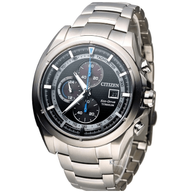 Orologio Citizen Supertitanio Chrono Eco-Drive Quadrante Antracite CA0550-52E
