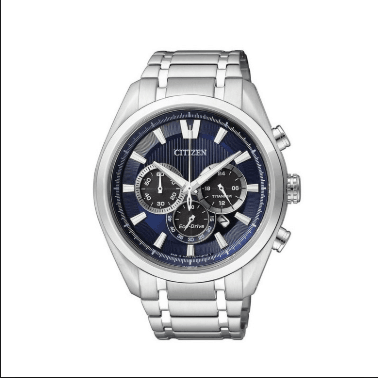 Orologio Citizen Supertitanio Chrono Eco-Drive Quadrante Blu CA4010-58L