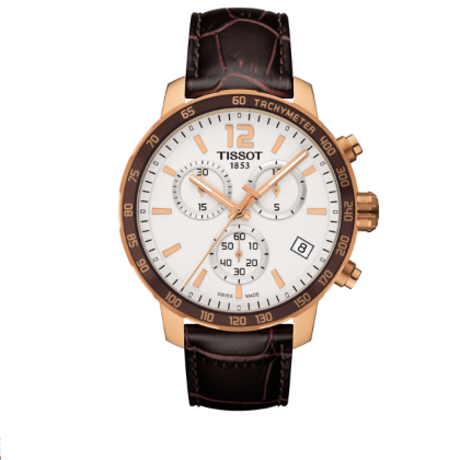 Tissot Quickster Cronografo Swiss Made Quarzo T095.417.36.037.00