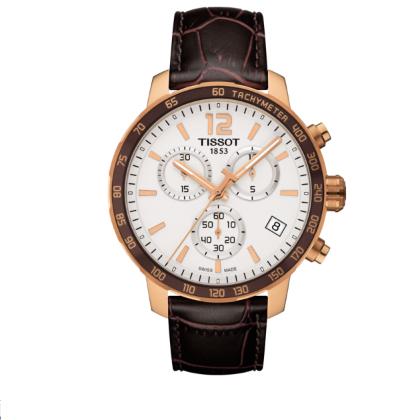 Tissot Quickster Cronografo Swiss Made Quarzo T095.417.36.037.00