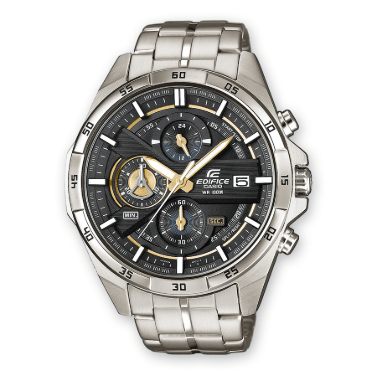 Orologio Casio Edifice Acciaio Quadrante Antracite EFR-556D-1AVUEF
