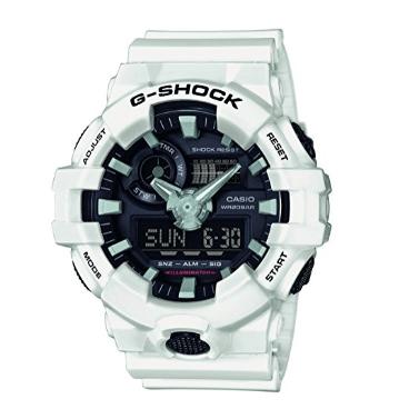 Orologio Casio G-Shock Cassa Cinturino Resina Bianca Antiurto GA-700-7AER