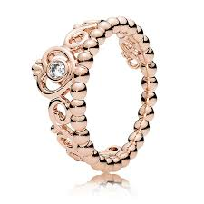 anello pandora tiara argento