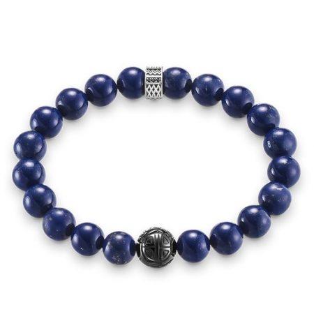 Thomas Sabo Bracciale Royal Blue Argento Palline A1534-930-32-L19